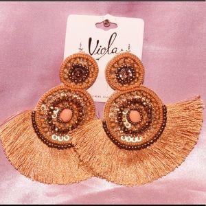 Beaded earrings ❤️